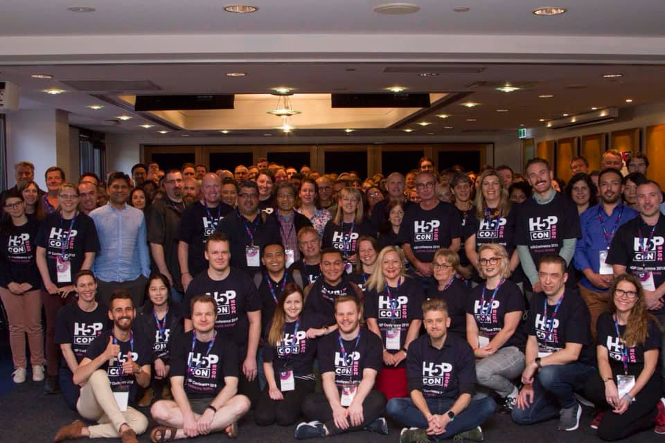 H5P conference group photo